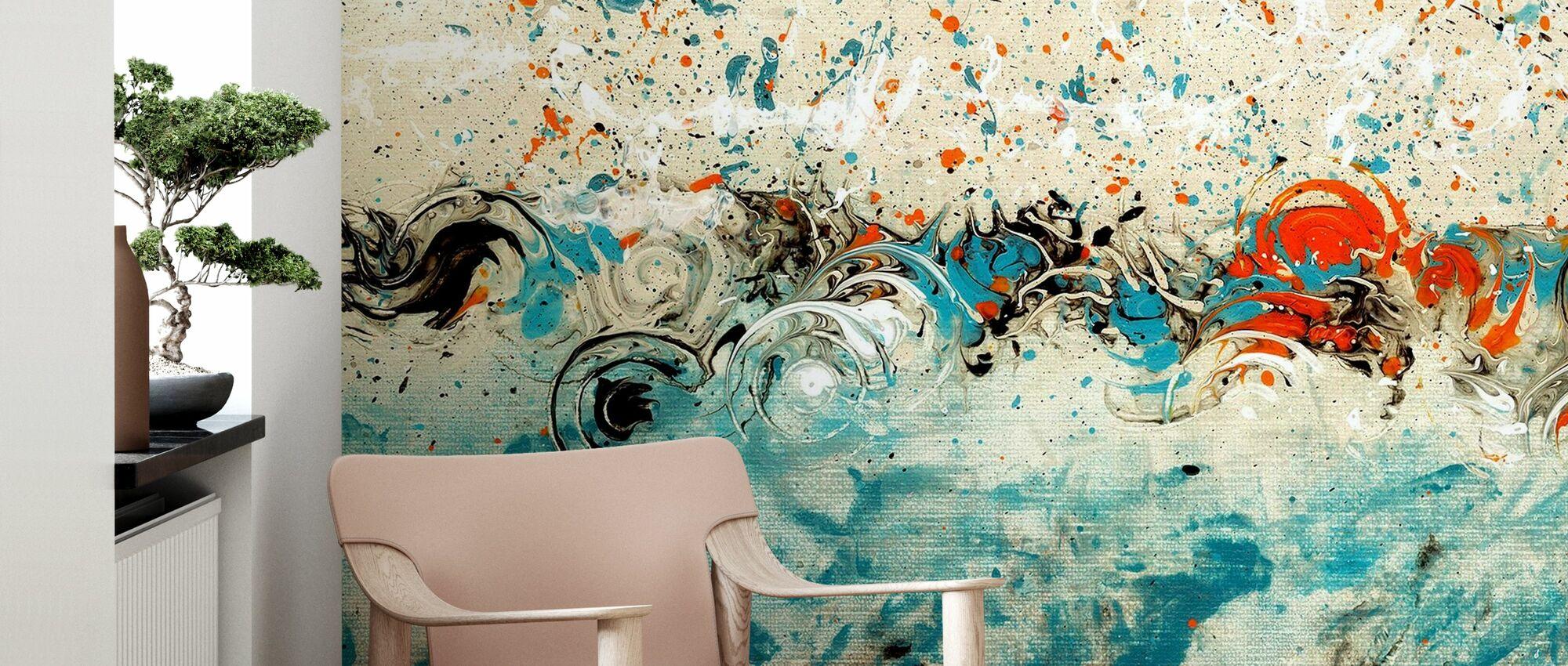Rhythmic Hour - Wallpaper - Living Room