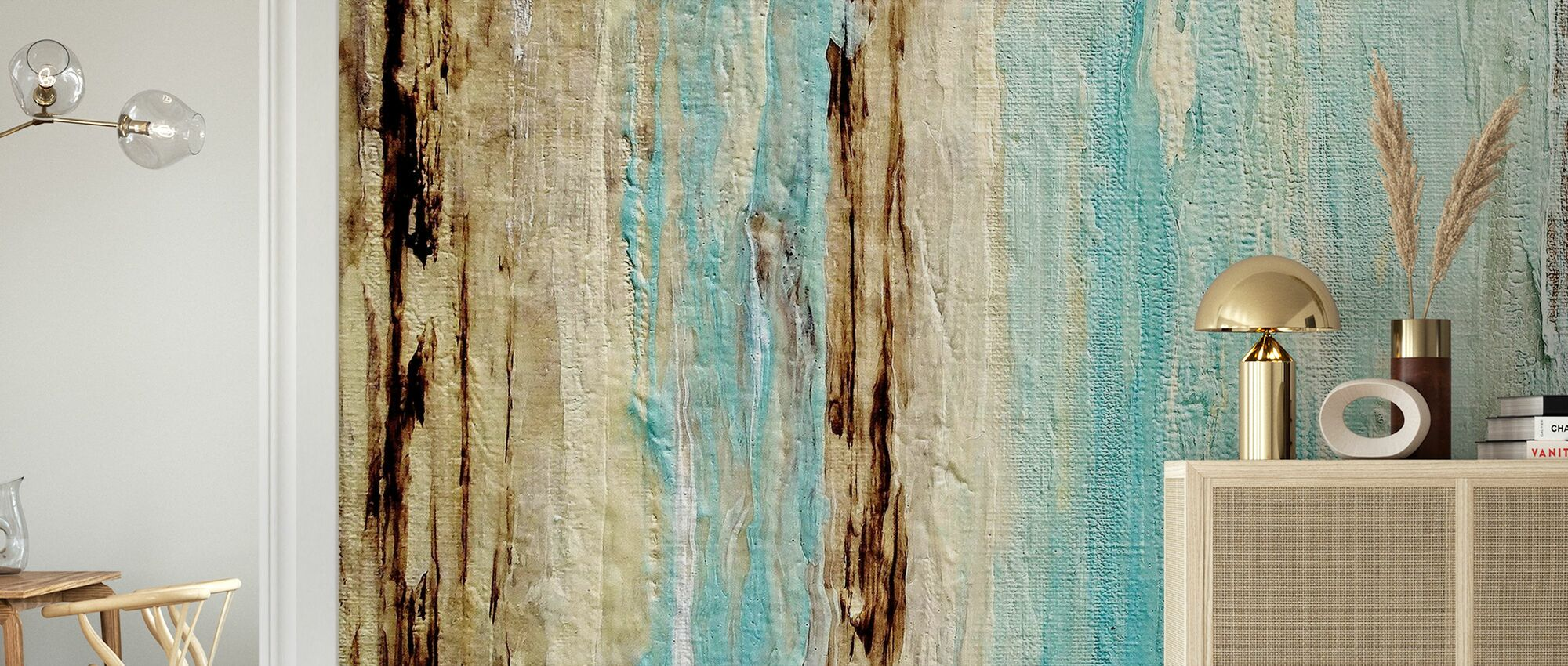 Healing Tides - Wallpaper - Living Room