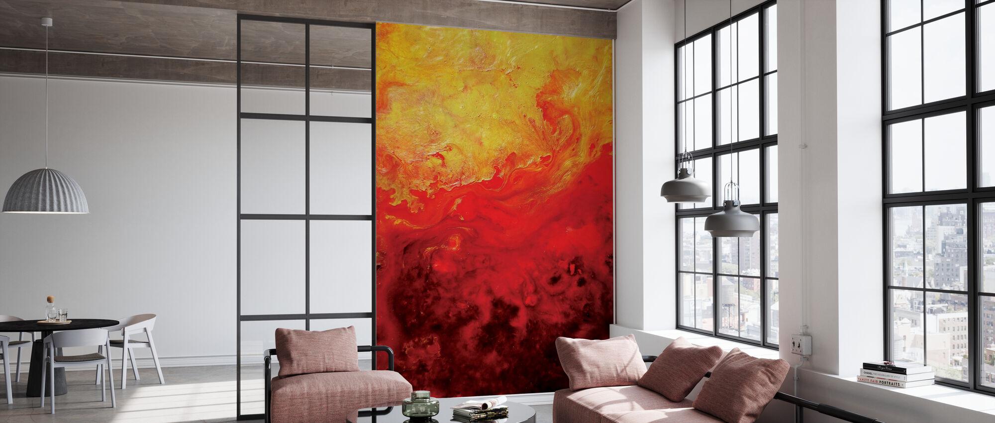 Inner Gardens VII - Wallpaper - Office