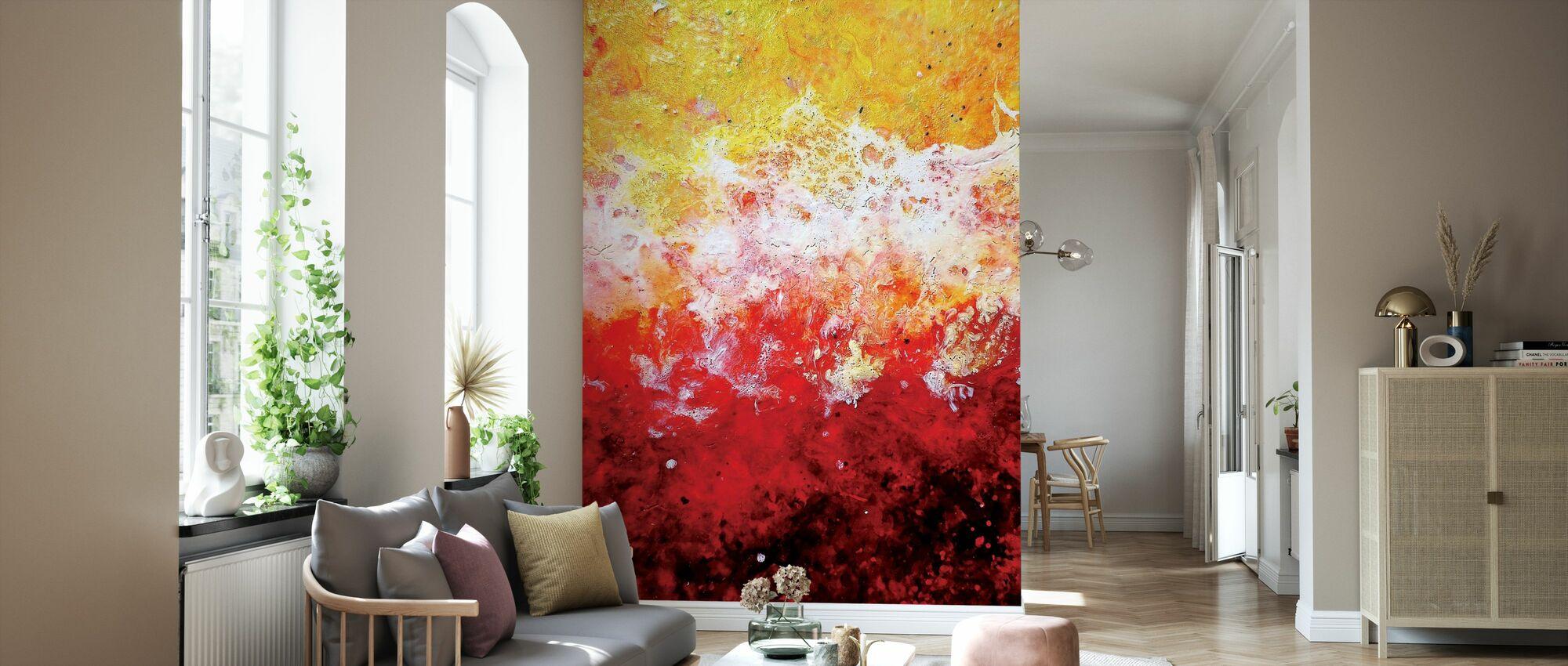 Inner Gardens IX - Wallpaper - Living Room