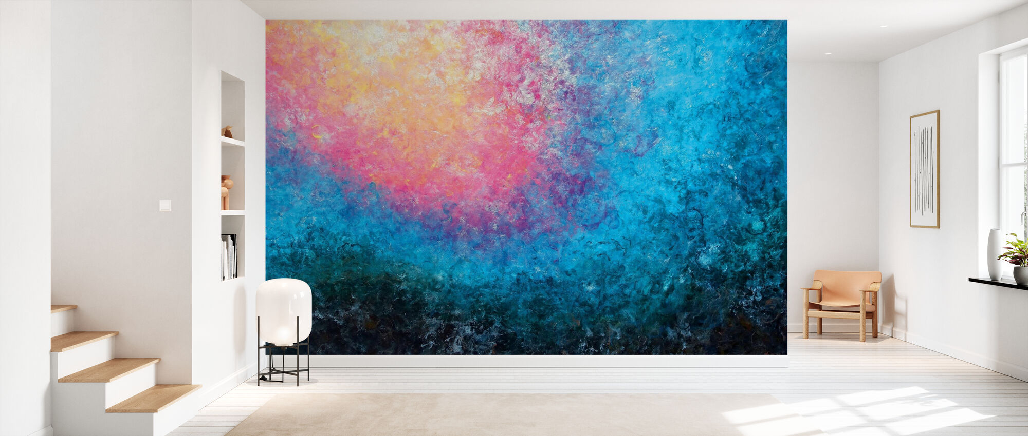 Blooming Tide - Wallpaper - Hallway