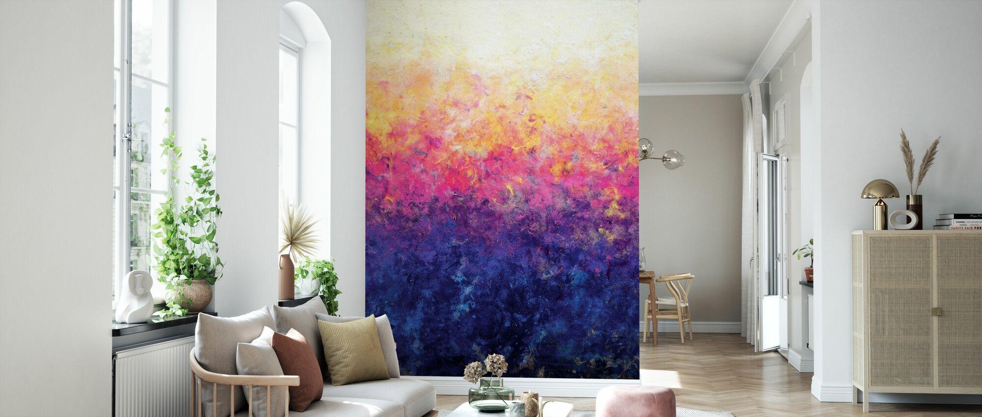 Waking Light - Wallpaper - Living Room