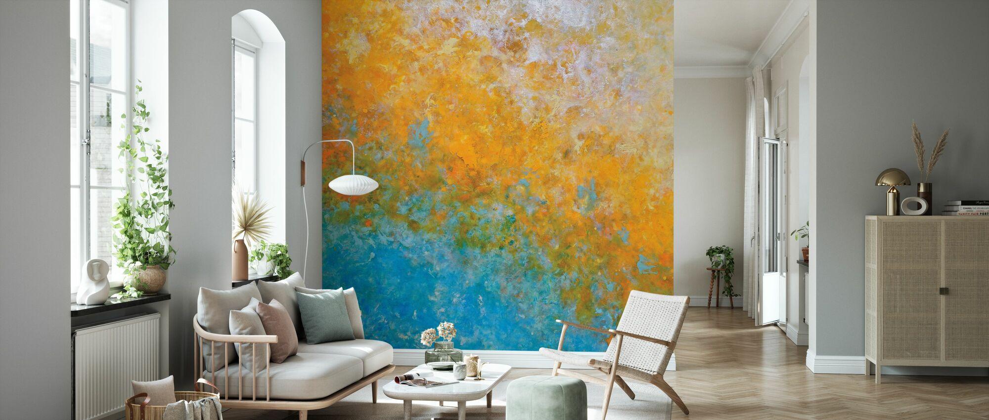 Trade Winds - Wallpaper - Living Room