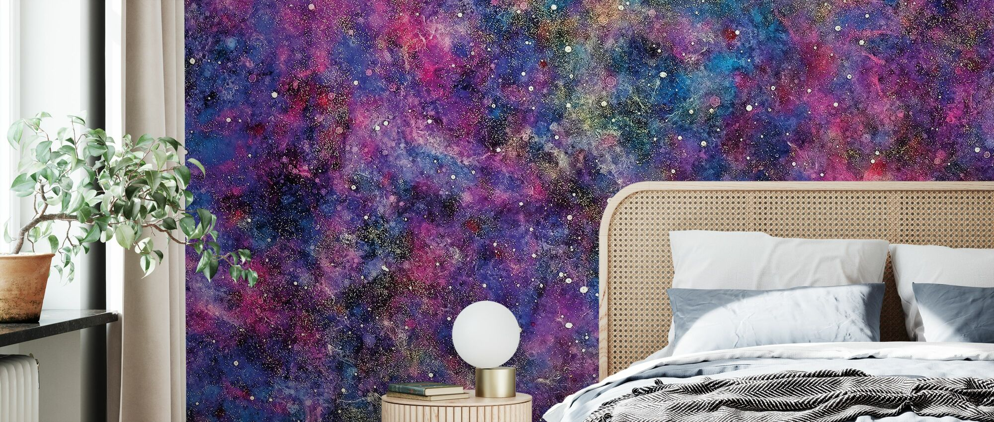 Thousand Stars - Wallpaper - Bedroom