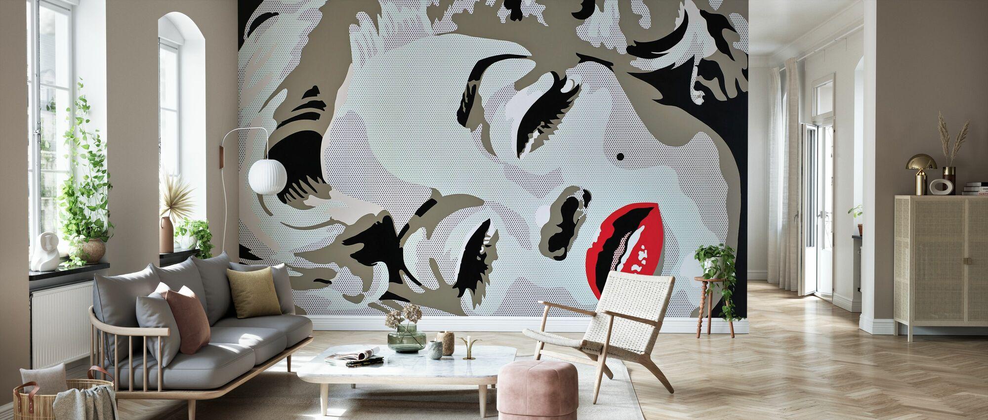 Sleeping Star - Wallpaper - Living Room