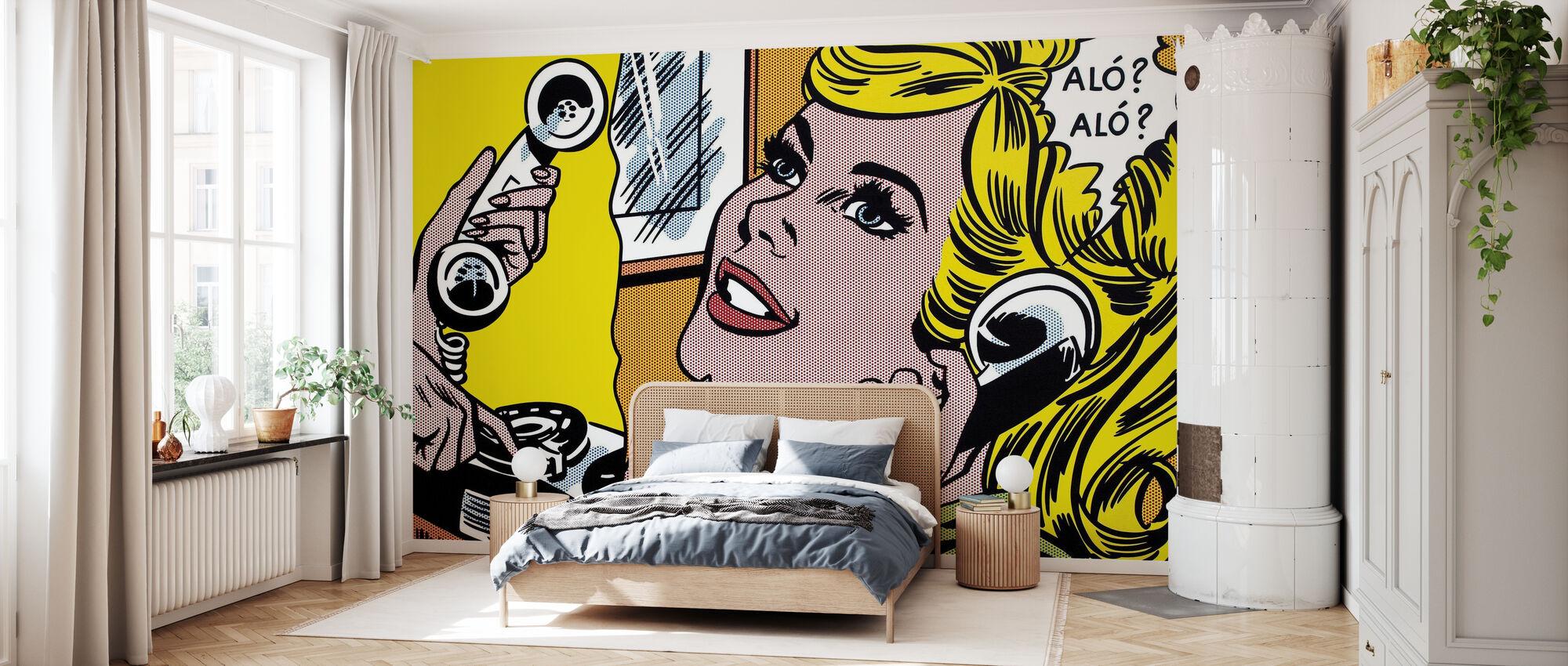 Hello - Wallpaper - Bedroom