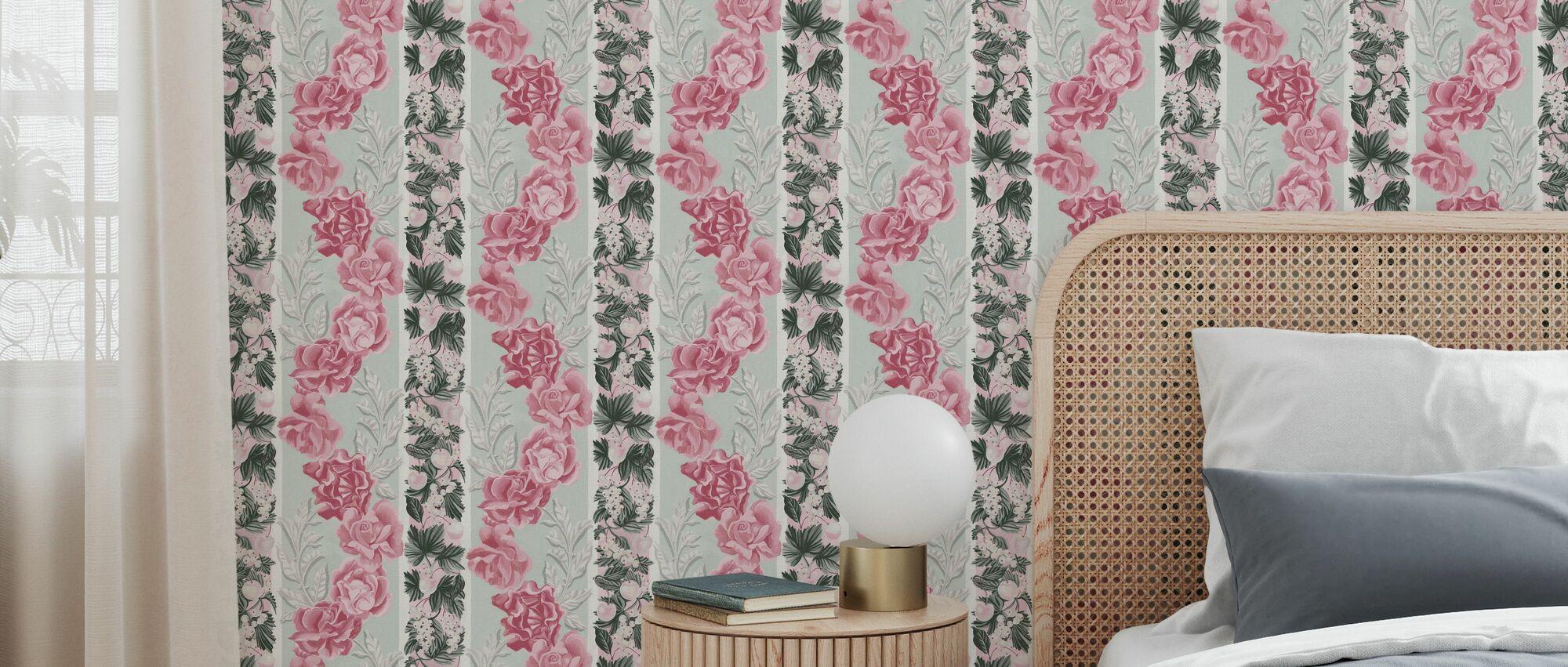 Erotica - Sage - Wallpaper - Bedroom