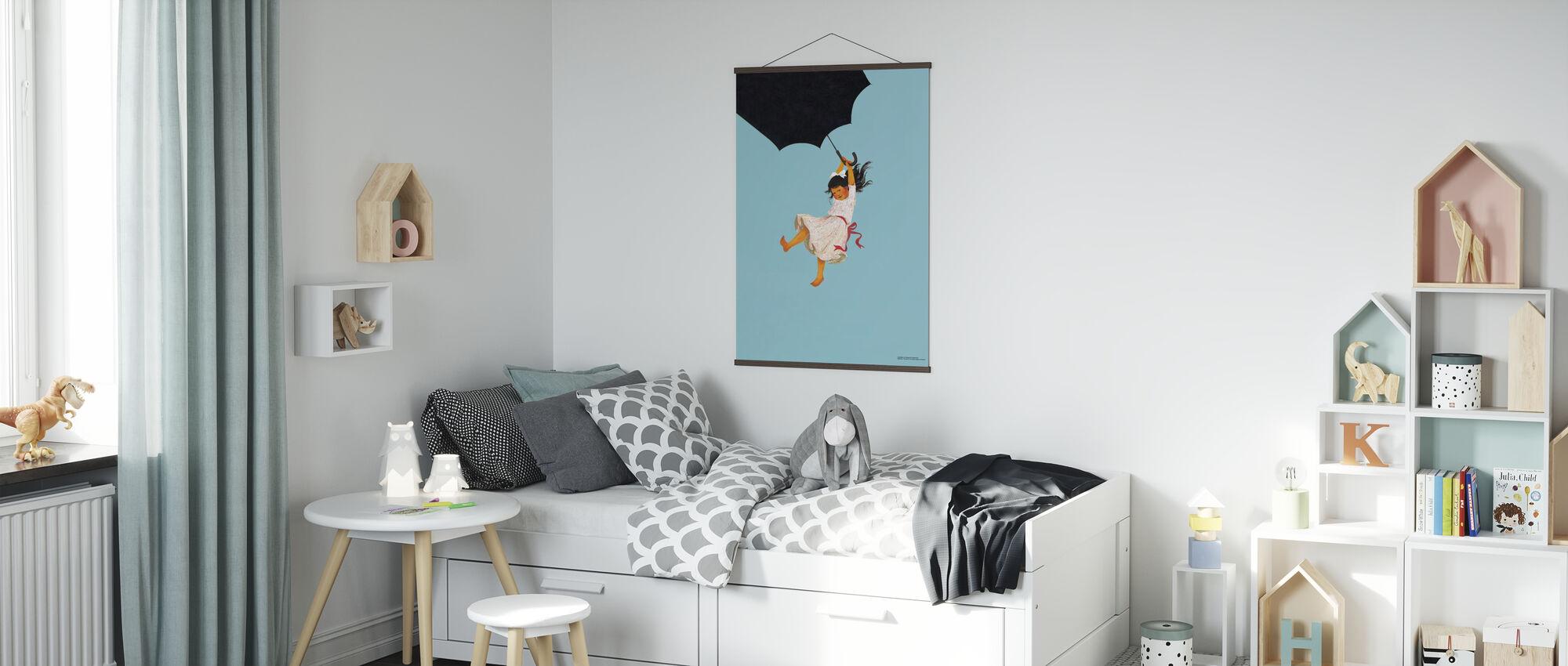 Madicken Pazzo Poliziotto - Poster - Camera dei bambini