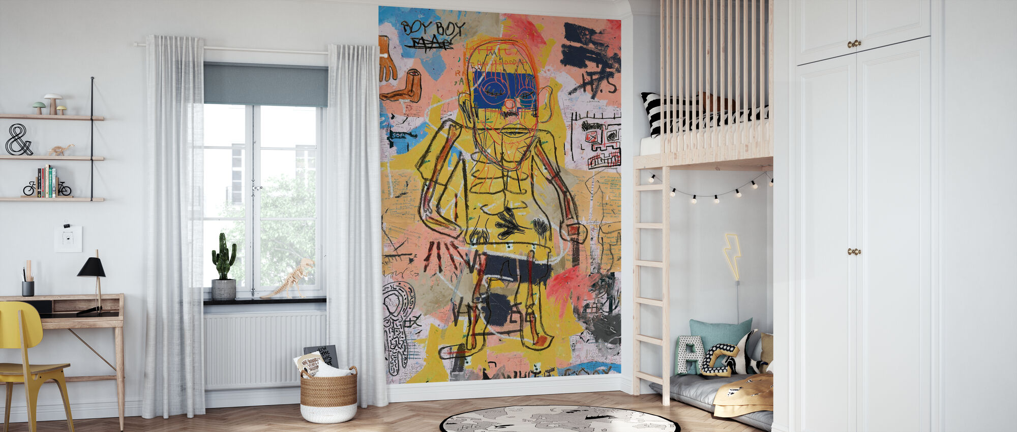 White Copy - Wallpaper - Kids Room