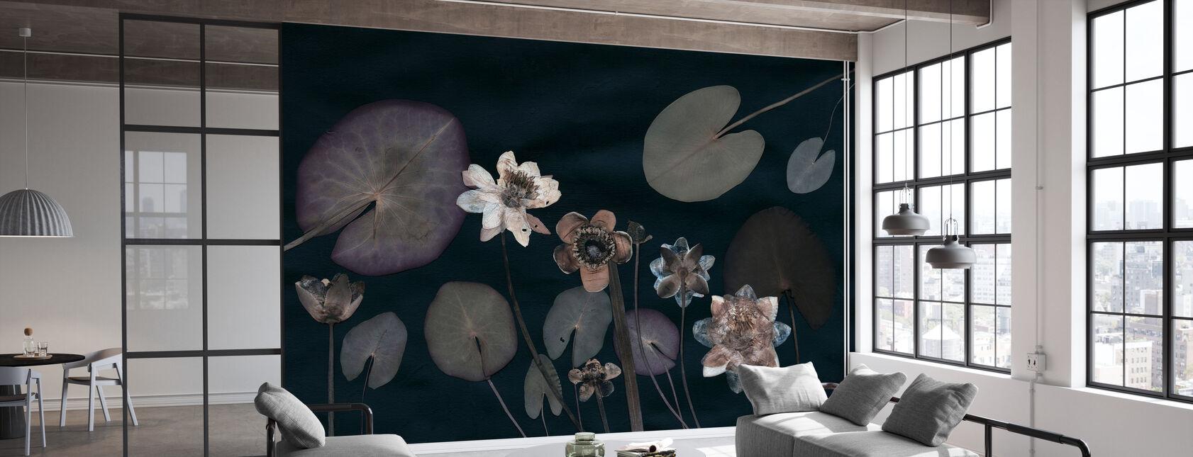 Waterlilies - Wallpaper - Office