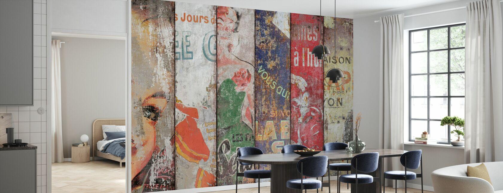 Vintages - Wallpaper - Kitchen