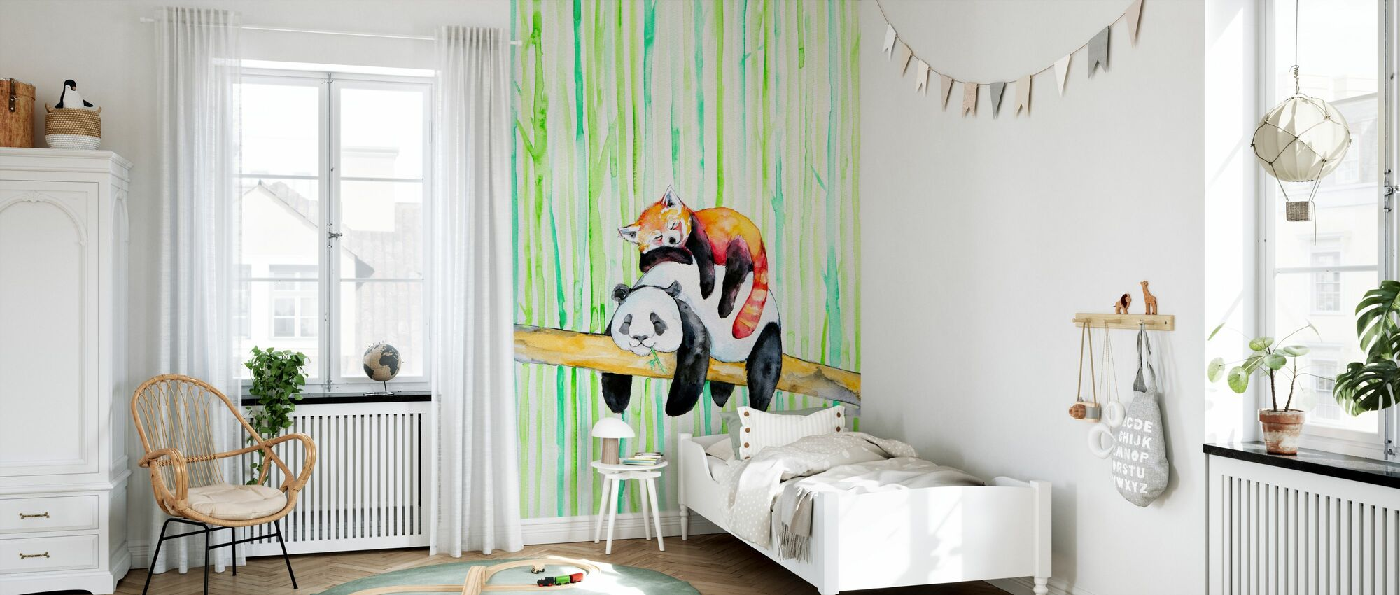 Lullaby - Wallpaper - Kids Room
