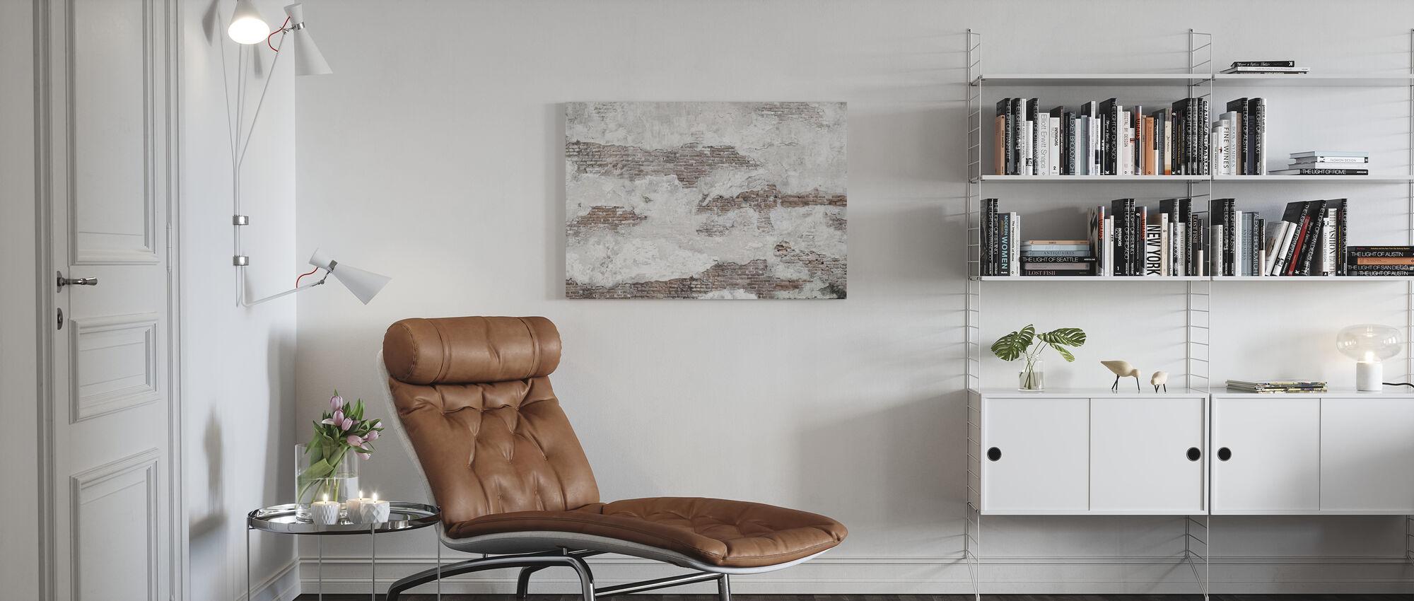 Old Brick Wall - Canvas print - Living Room