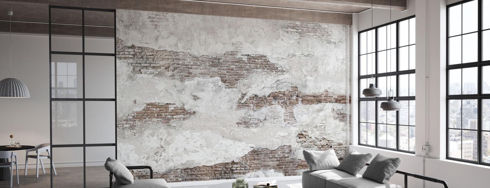 Oude bakstenen muur - Behang - Kantoor