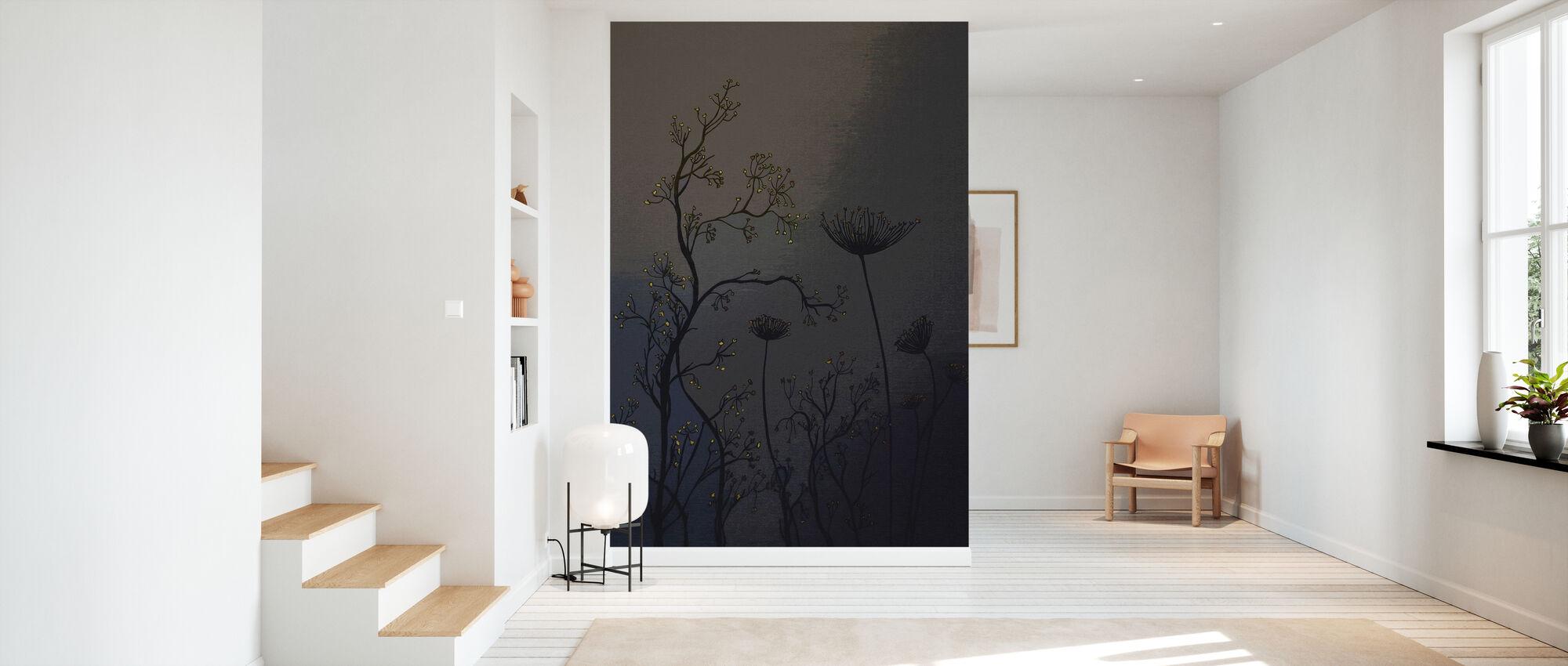 Flower - Wallpaper - Hallway