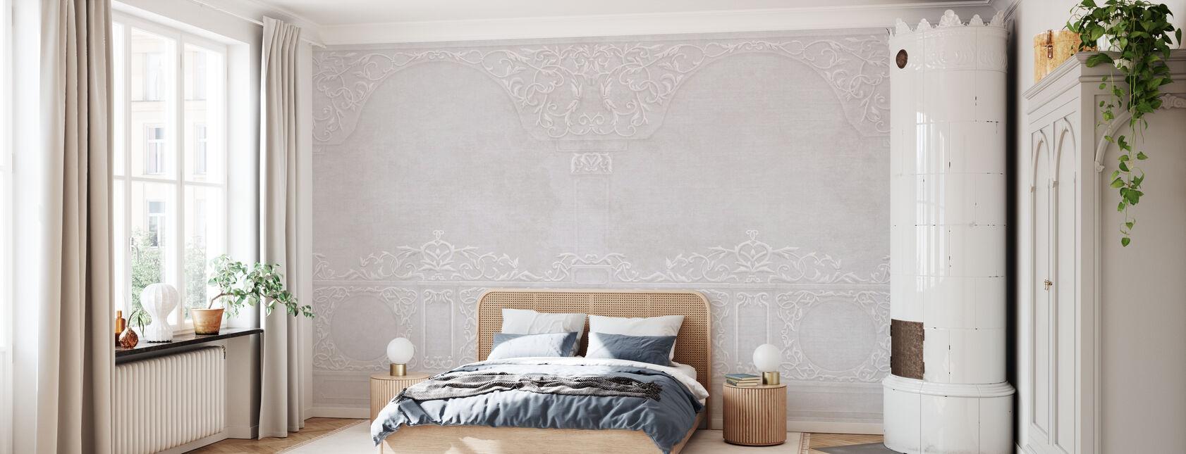 Firenze Stucco Dekorasjon - Ash Pink - Tapet - Soverom