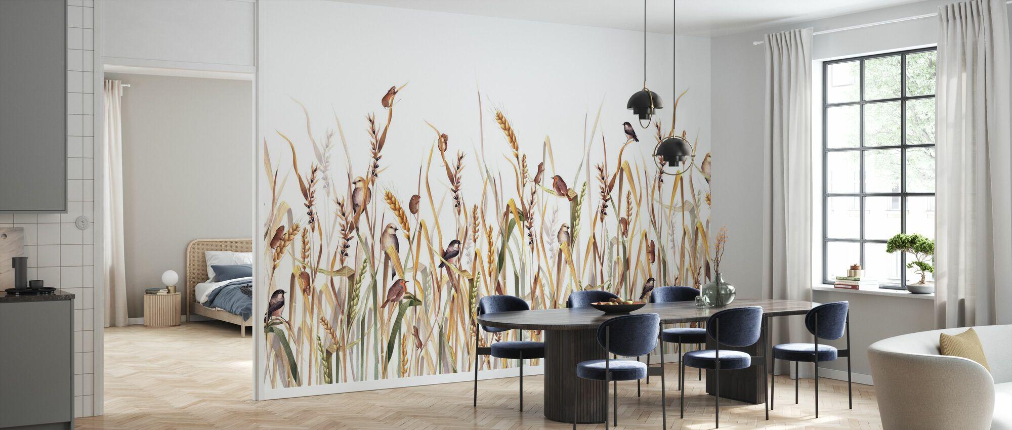 Friends in the Grass - Wallpaper - Kitchen