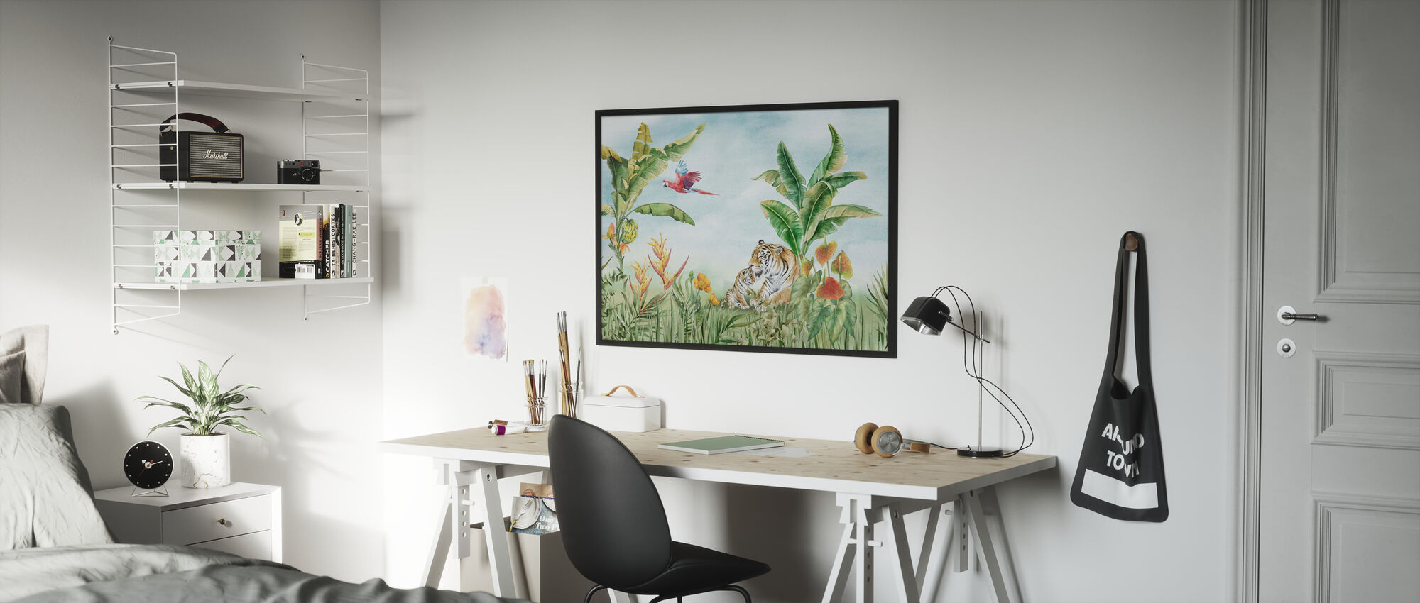 Relaxing in the Sun - Poster - Kids Room