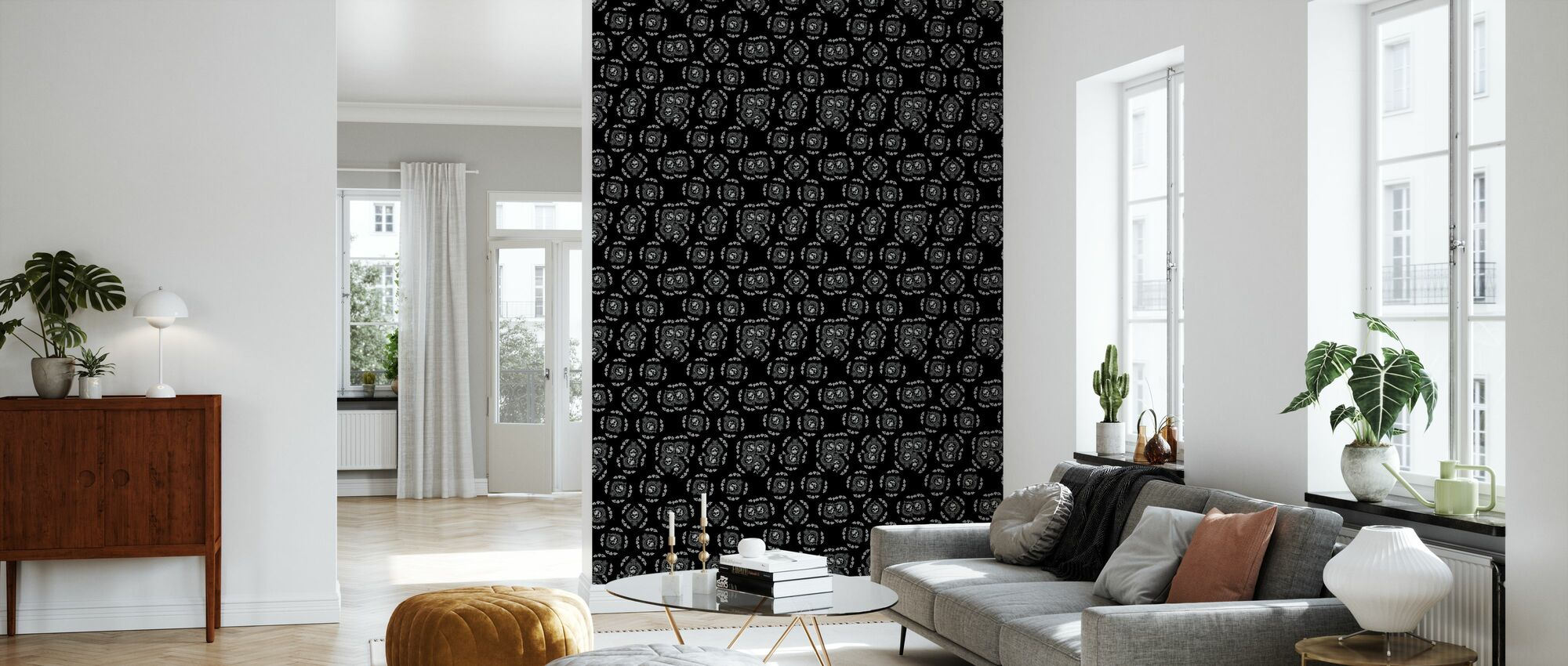 Ace Skull - Wallpaper - Living Room