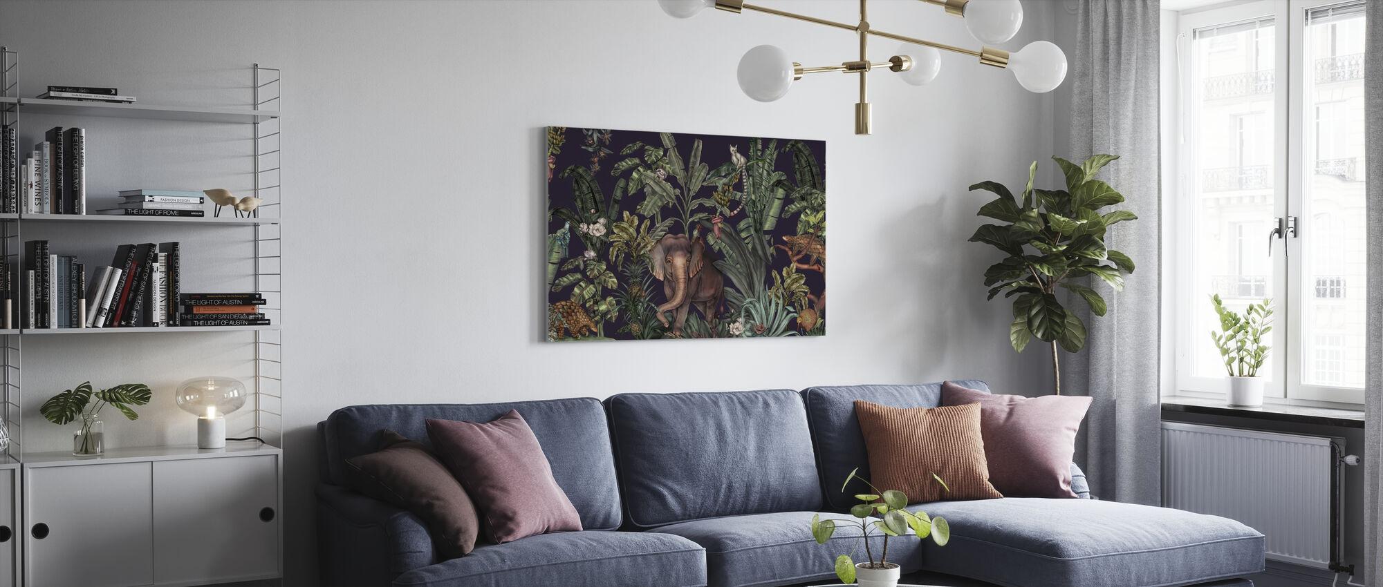 Jungle Kingdom - Space - Canvas print - Living Room