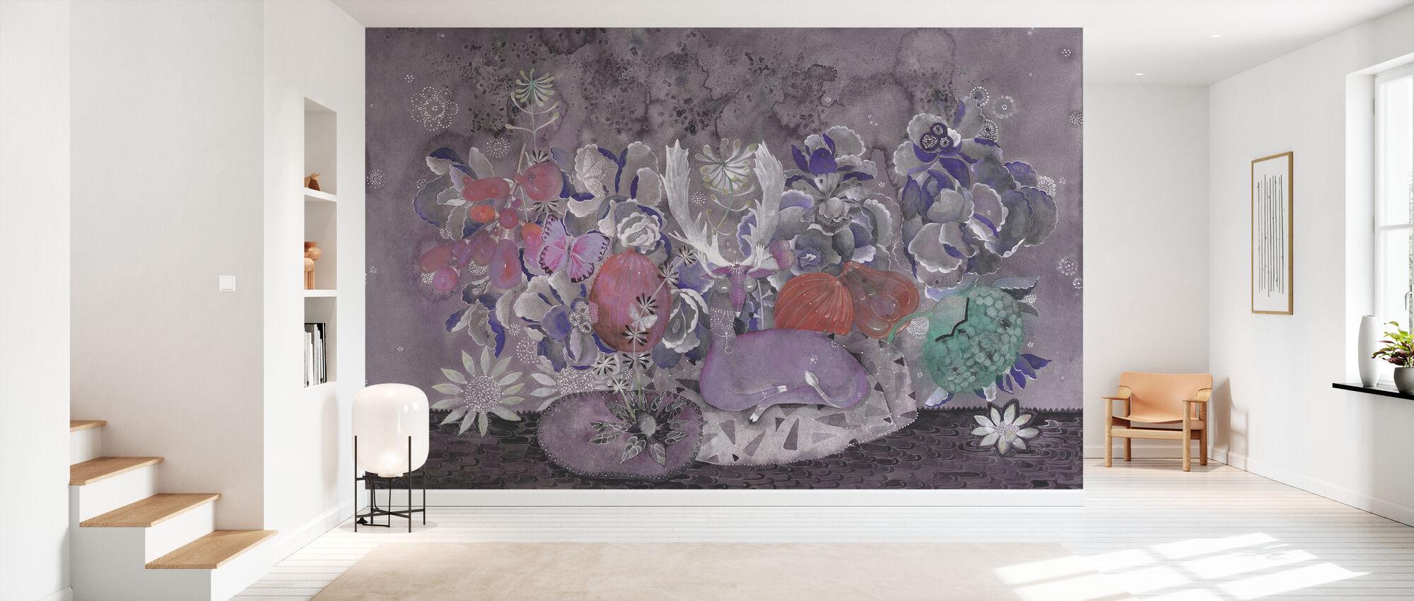 Garden Fruit - Wallpaper - Hallway