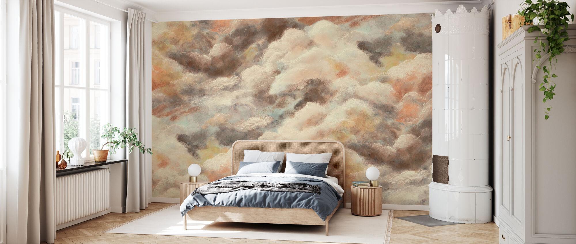 Gouden Wolken - Behang - Slaapkamer