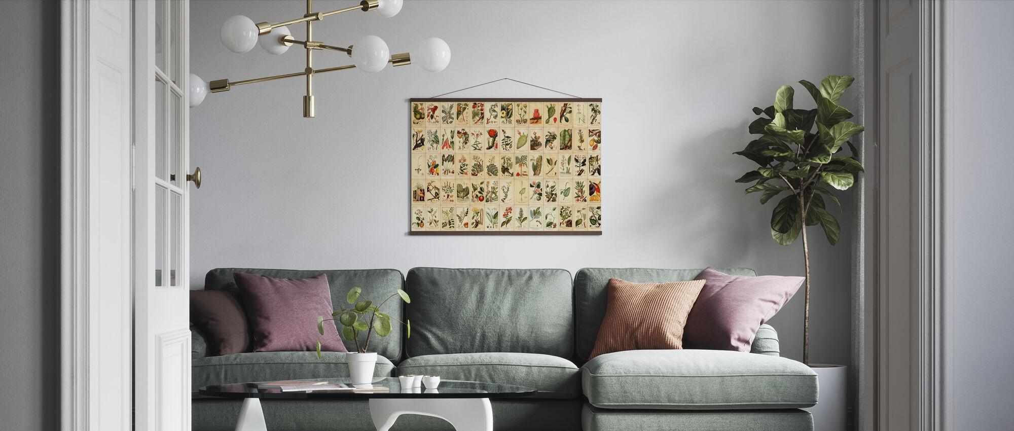 Vegan Is - Poster - Living Room