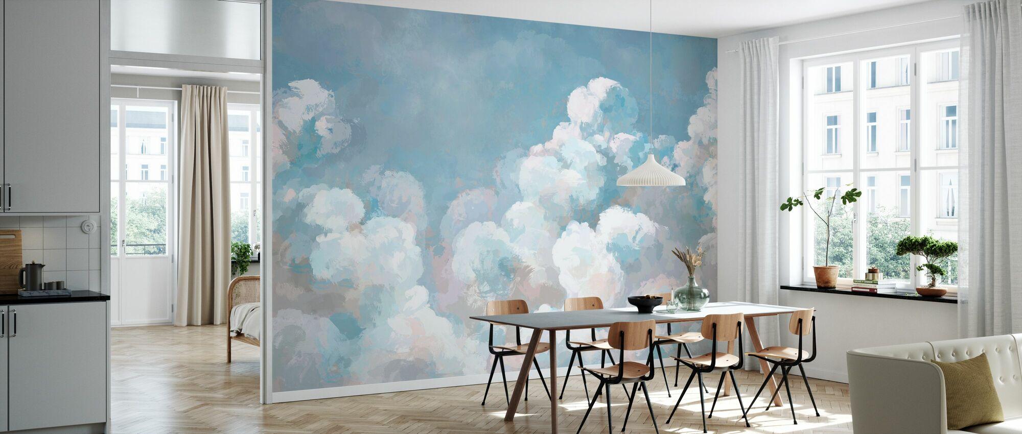 Milky Sky II - Behang - Keuken