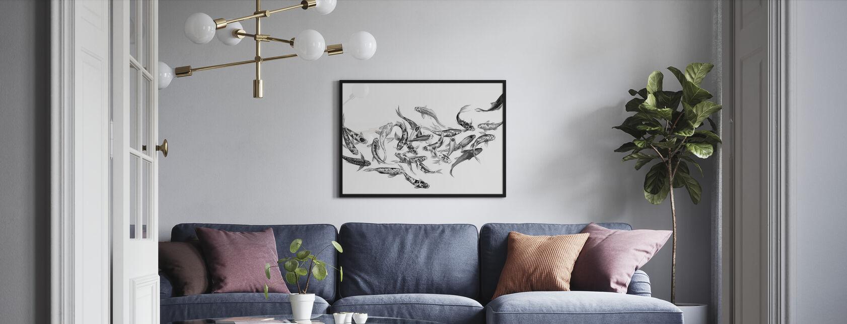 Koi Fishes - Poster - Living Room