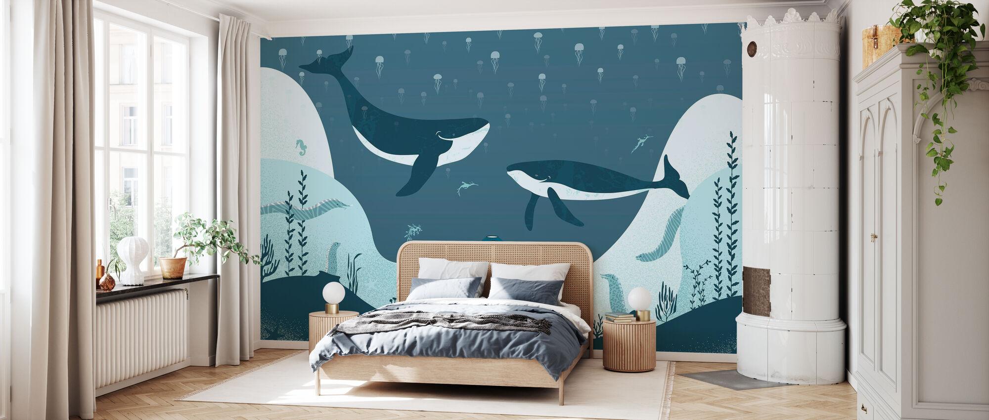 Underwater Journey - Wallpaper - Bedroom