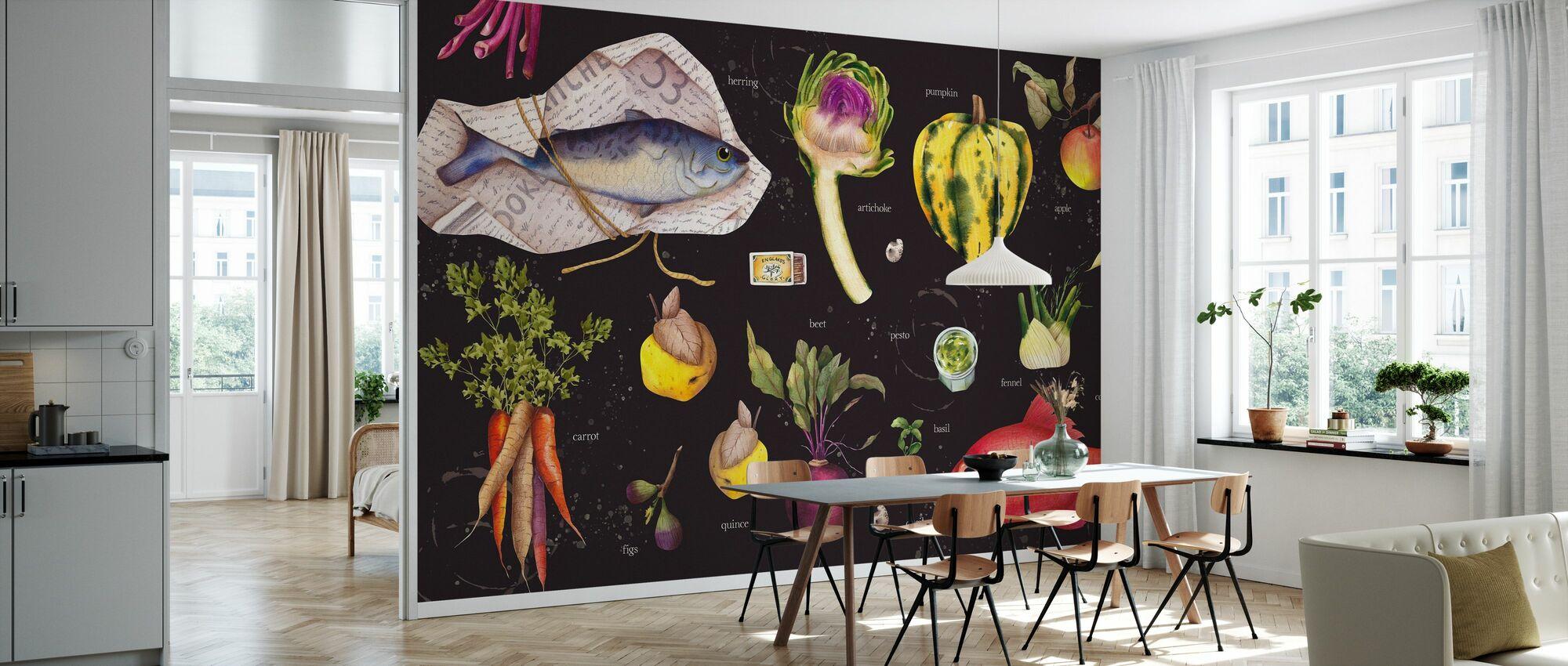 Lets Cook - Wallpaper - Kitchen