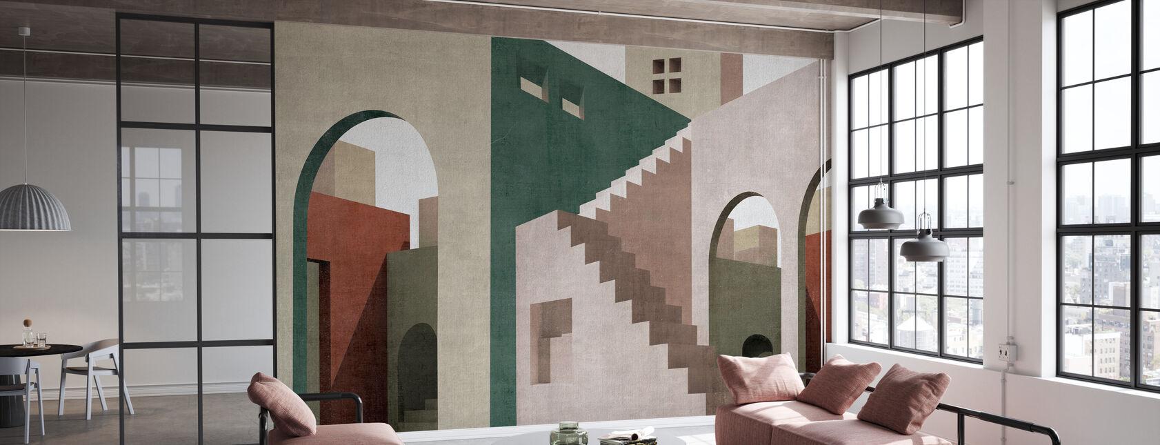Moroccan City II - Wallpaper - Office