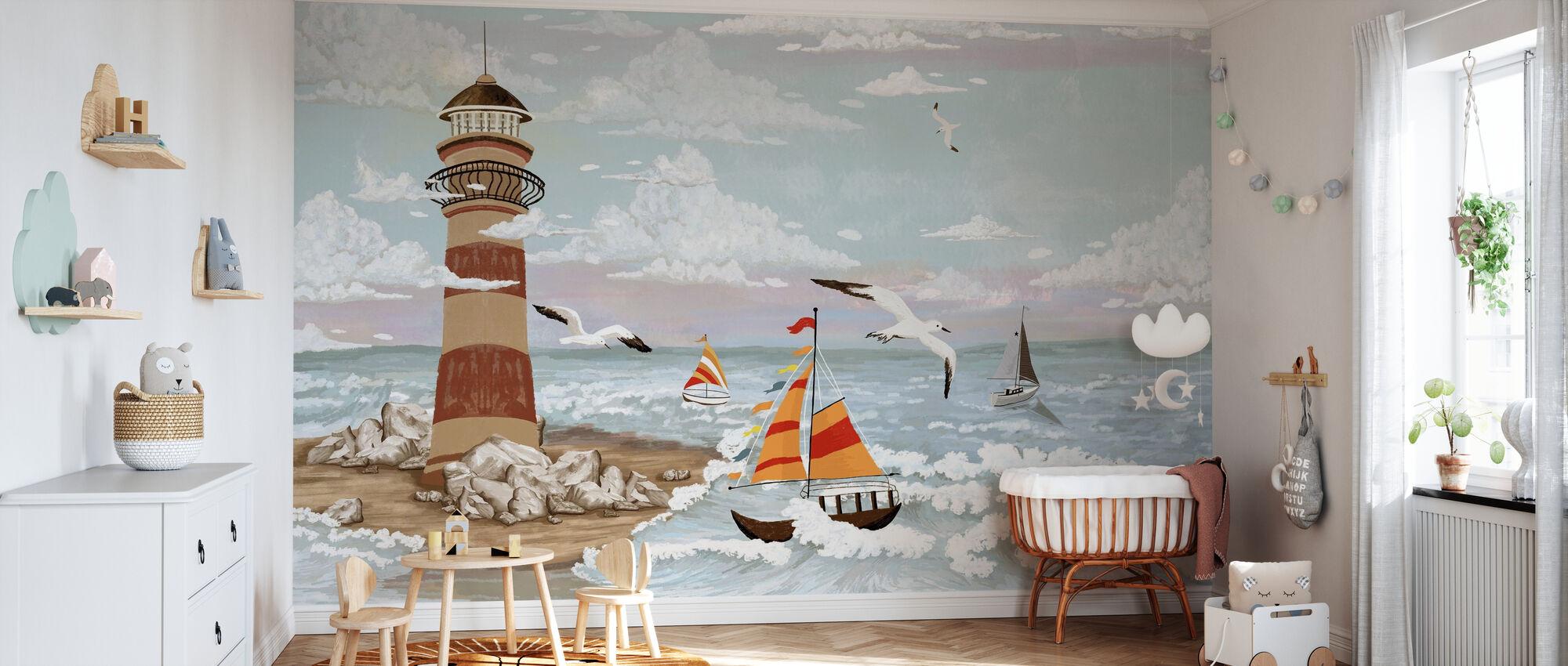 Navigation - Wallpaper - Nursery