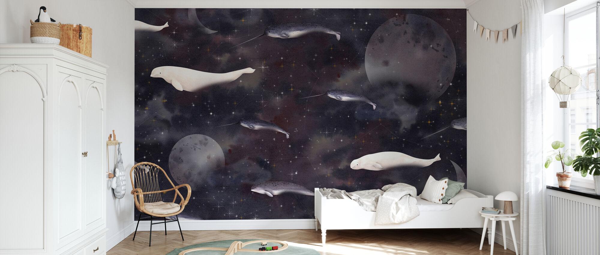 Ocean Moon - Tapet - Barnrum