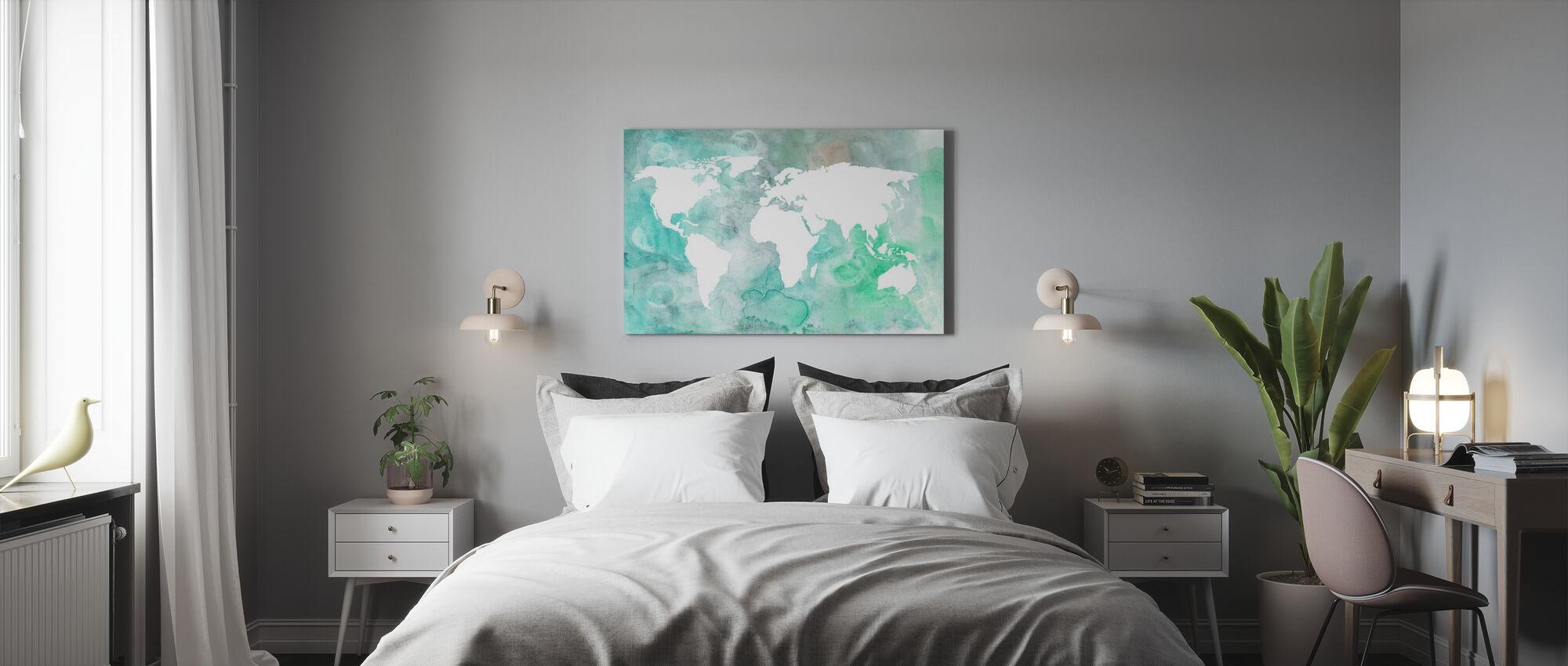 Dreaming of Earth II - Canvas print - Bedroom