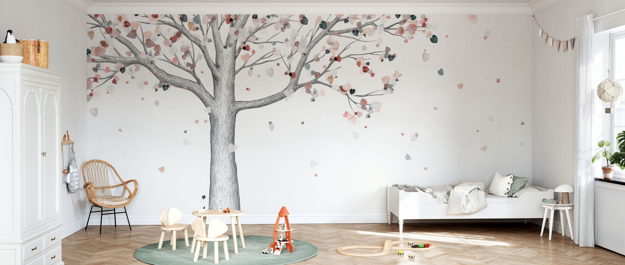 Herbst - Tapete - Kinderzimmer