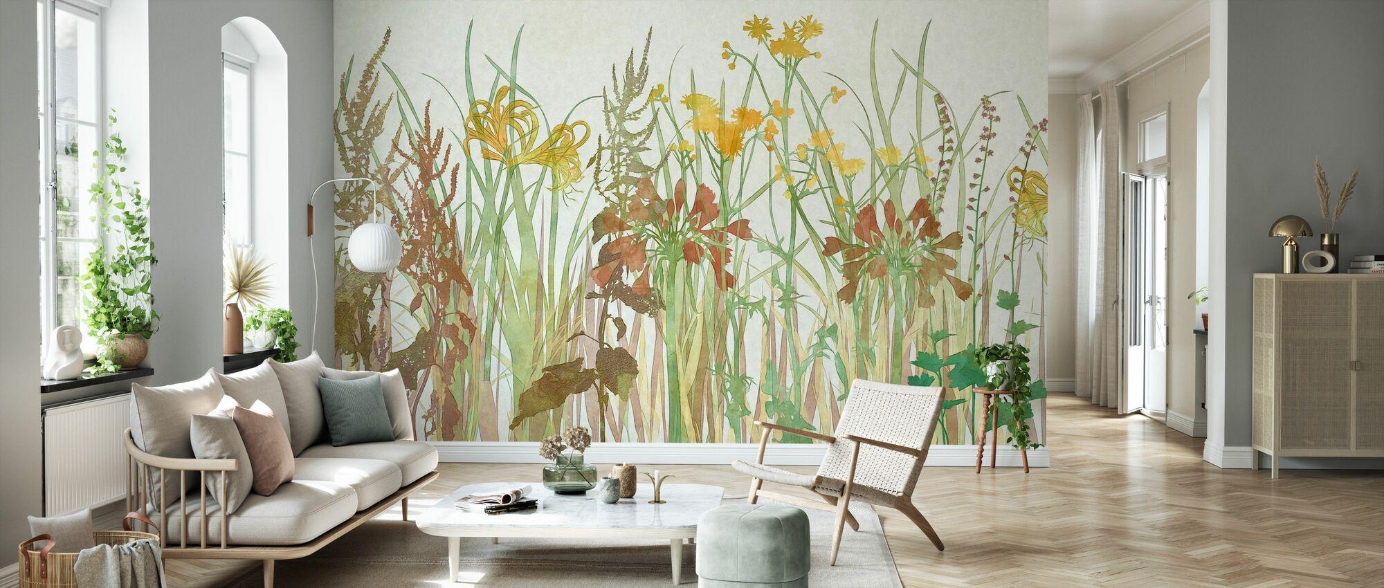 Augusti Garden - Tapet - Vardagsrum