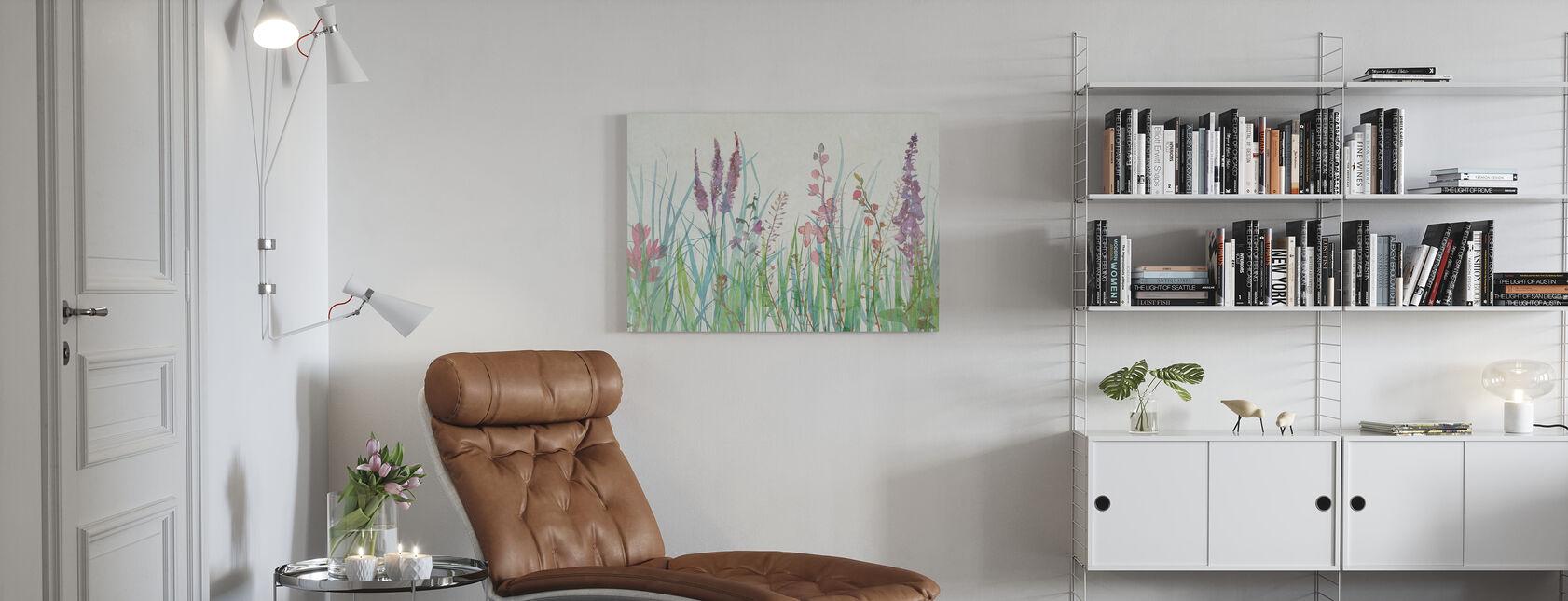 June Garden - Canvas print - Living Room