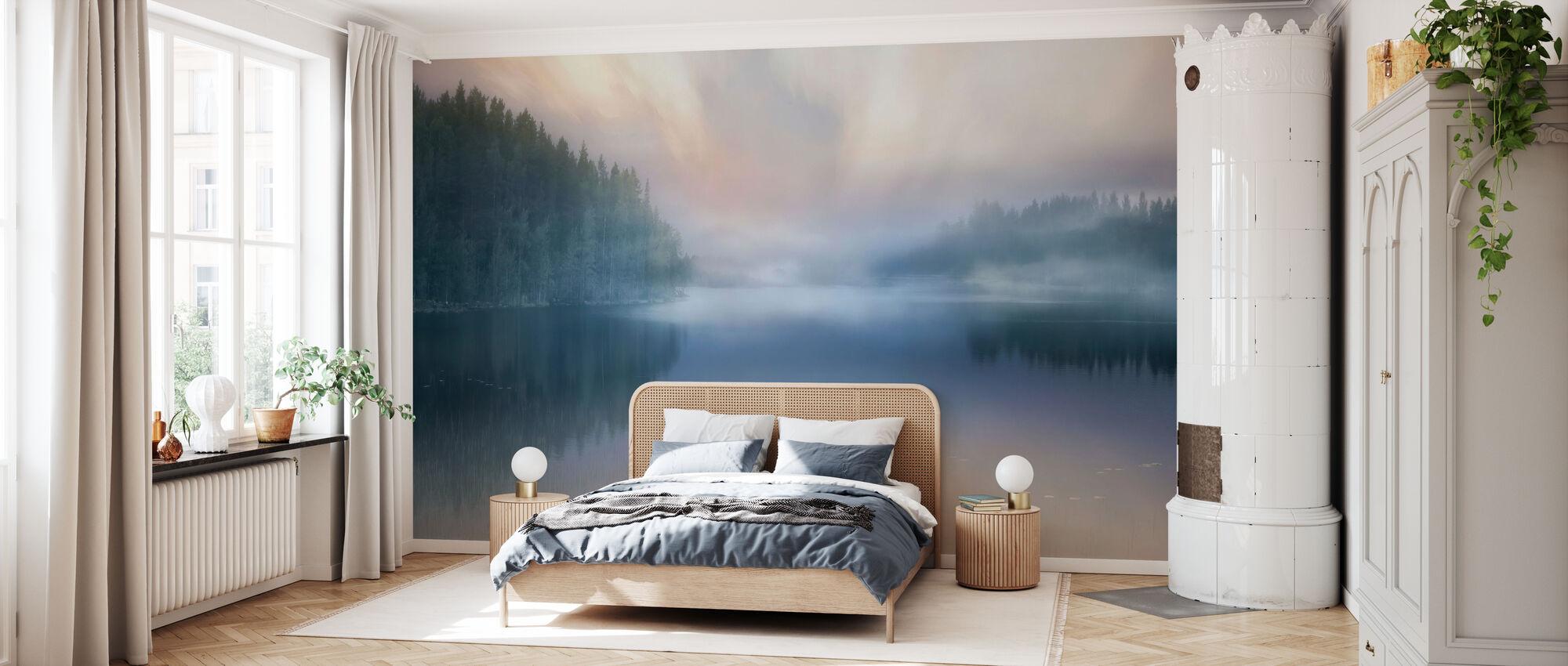 Misty Lake - Wallpaper - Bedroom