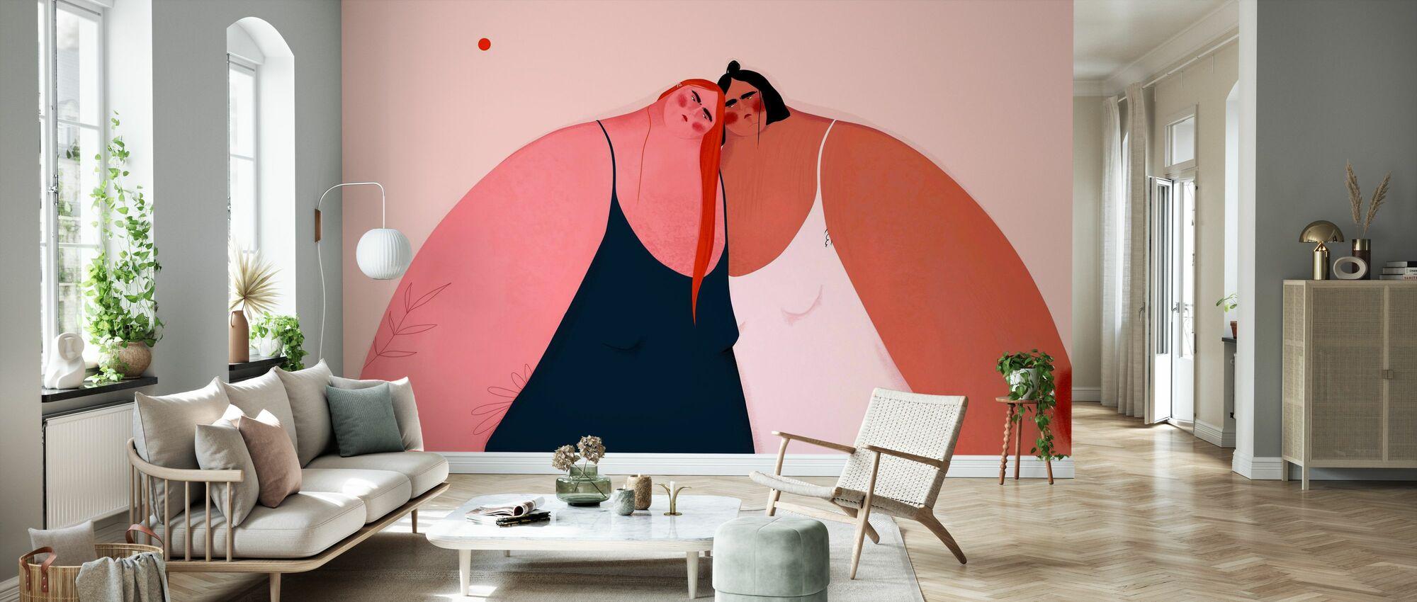 Friendship - Wallpaper - Living Room
