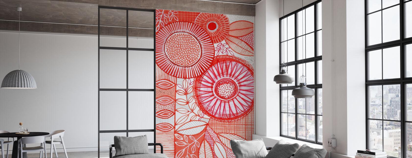 Black Botany - Wallpaper - Office