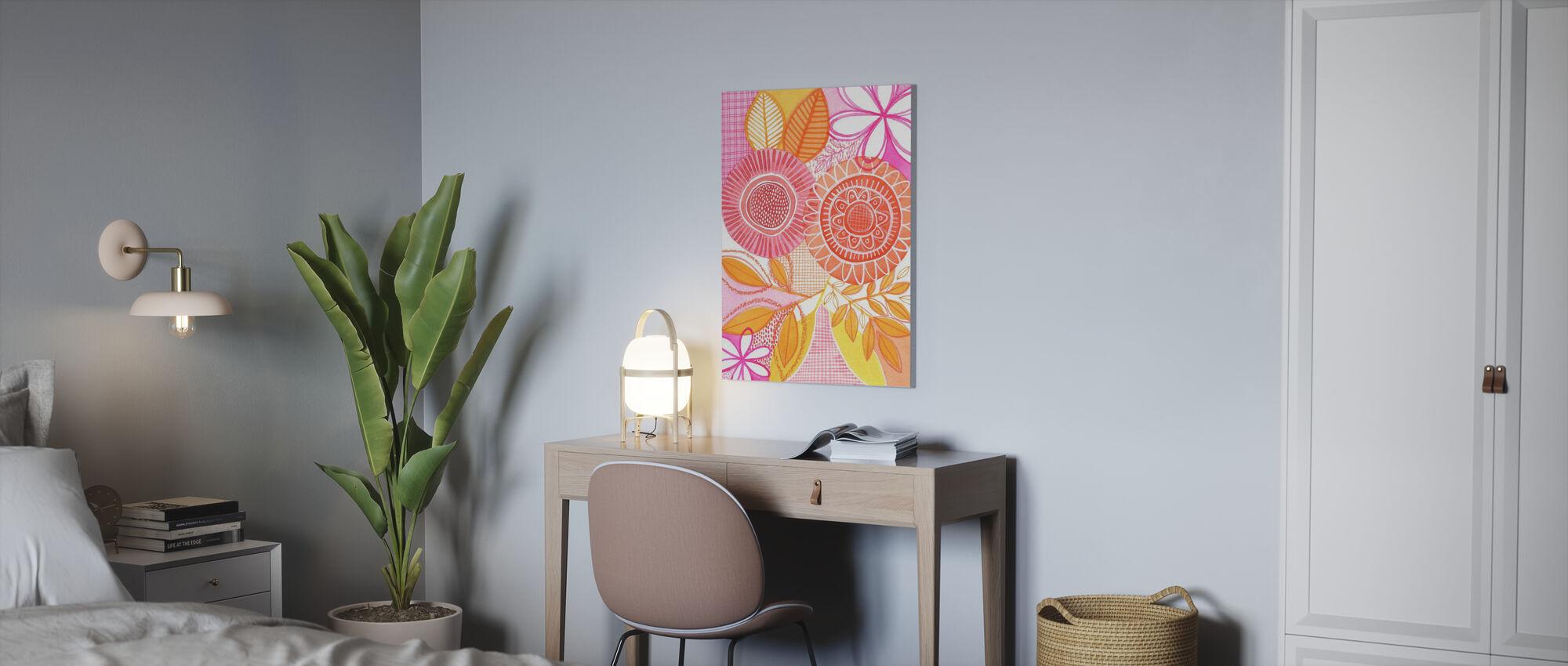 Black Botany - Canvas print - Office