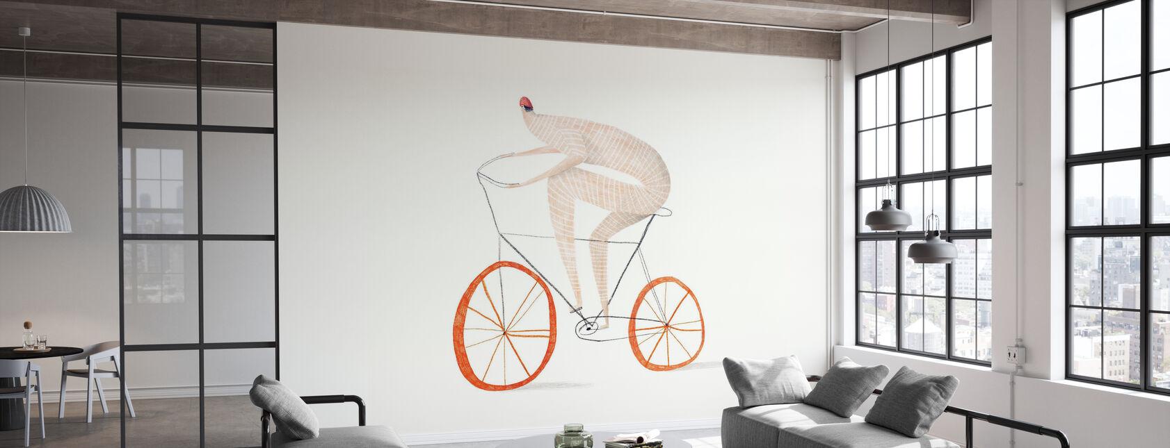 Ciclismo - Papel pintado - Oficina