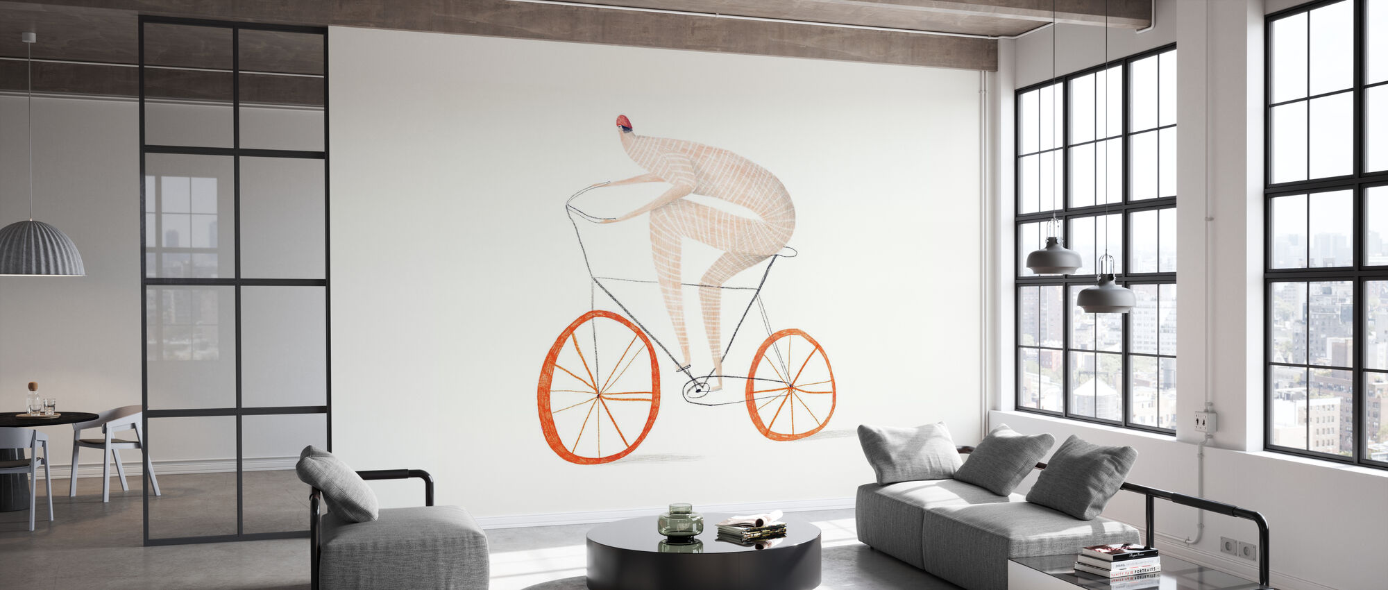Cycling - Wallpaper - Office