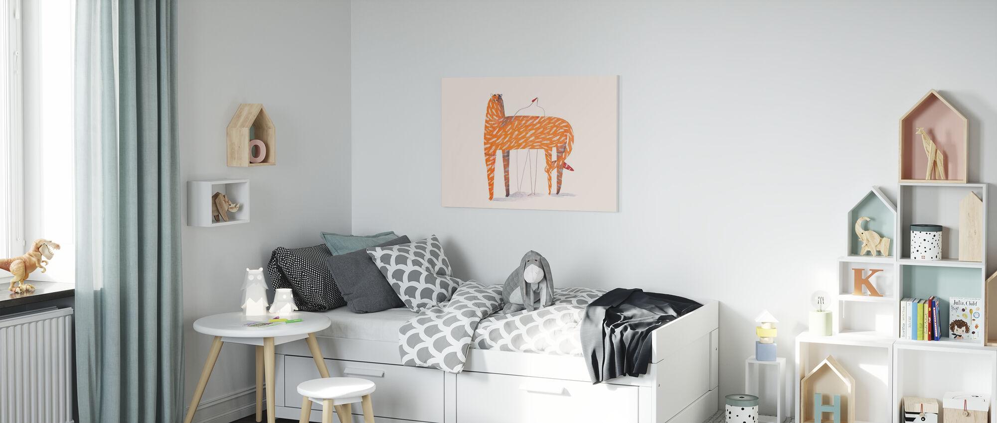 Tijger - Canvas print - Kinderkamer