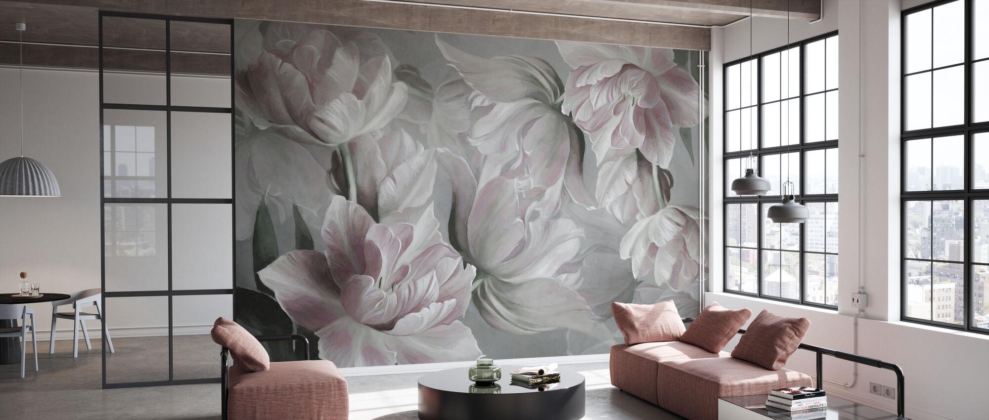 Grand Tulips - Wallpaper - Office