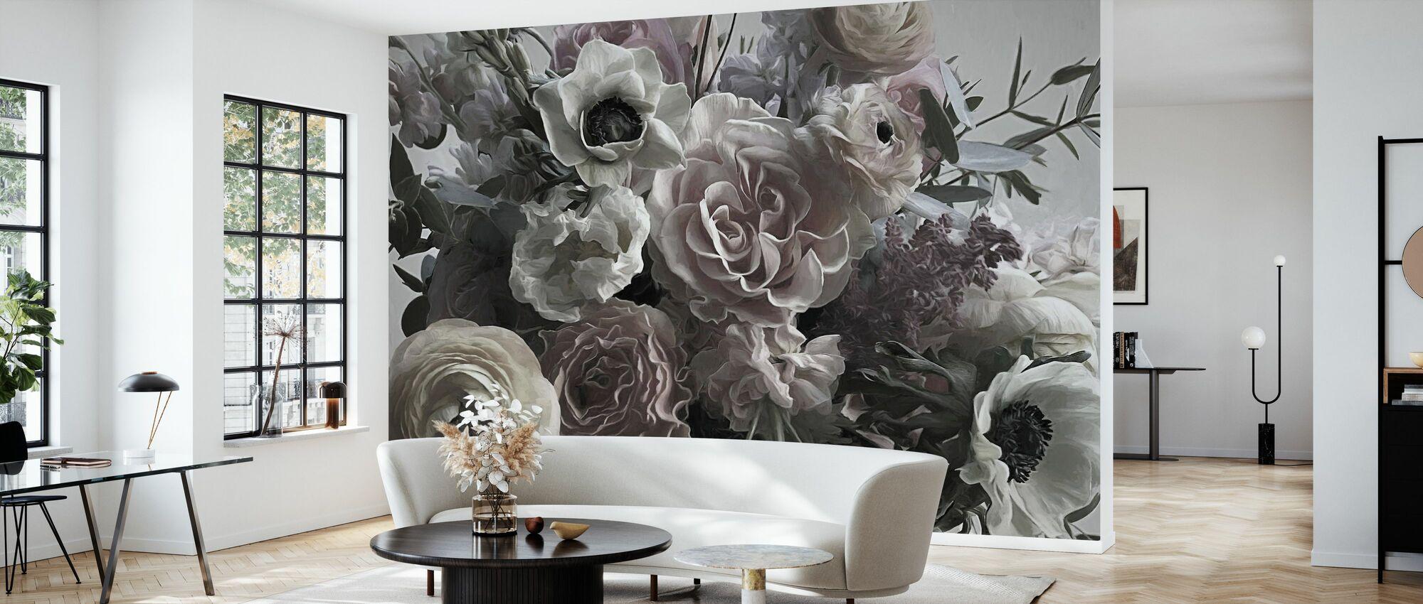 Ranuncullus - Wallpaper - Living Room