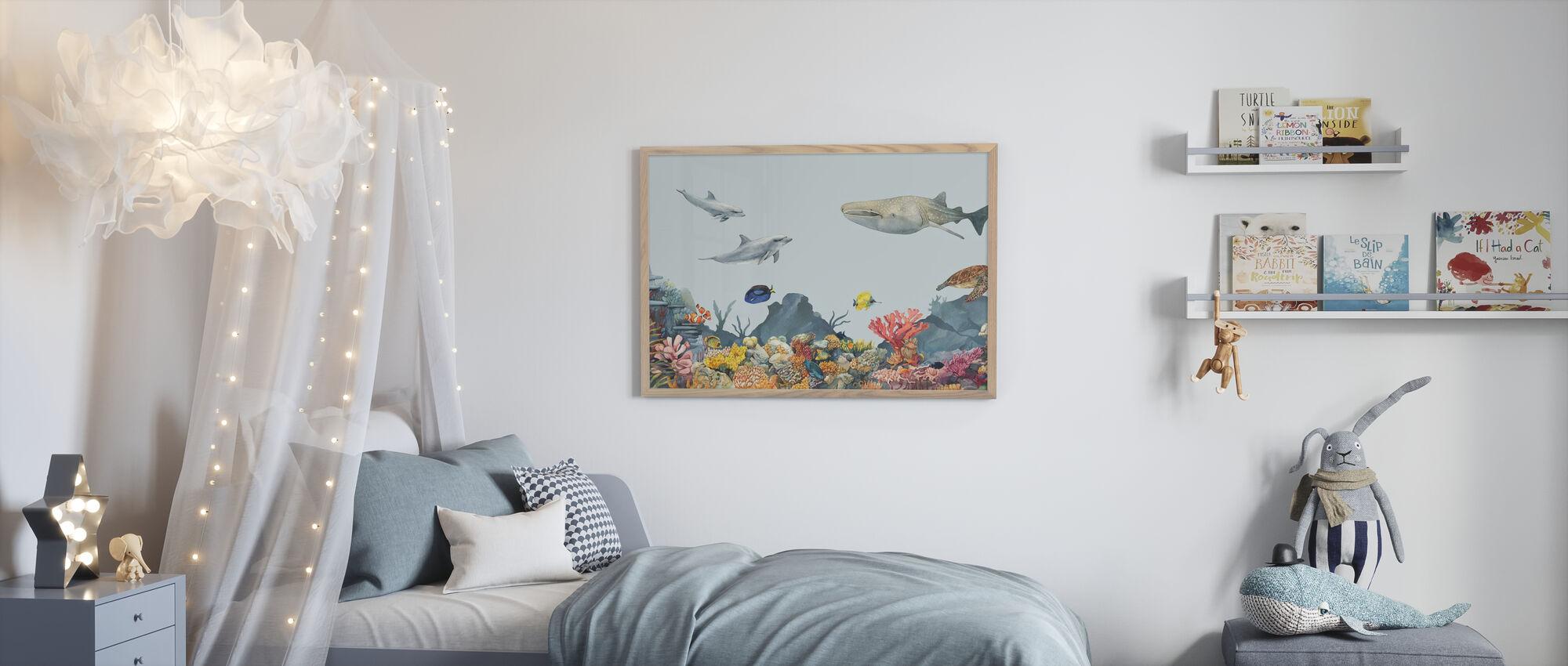 Underwater Friends - Poster - Kids Room