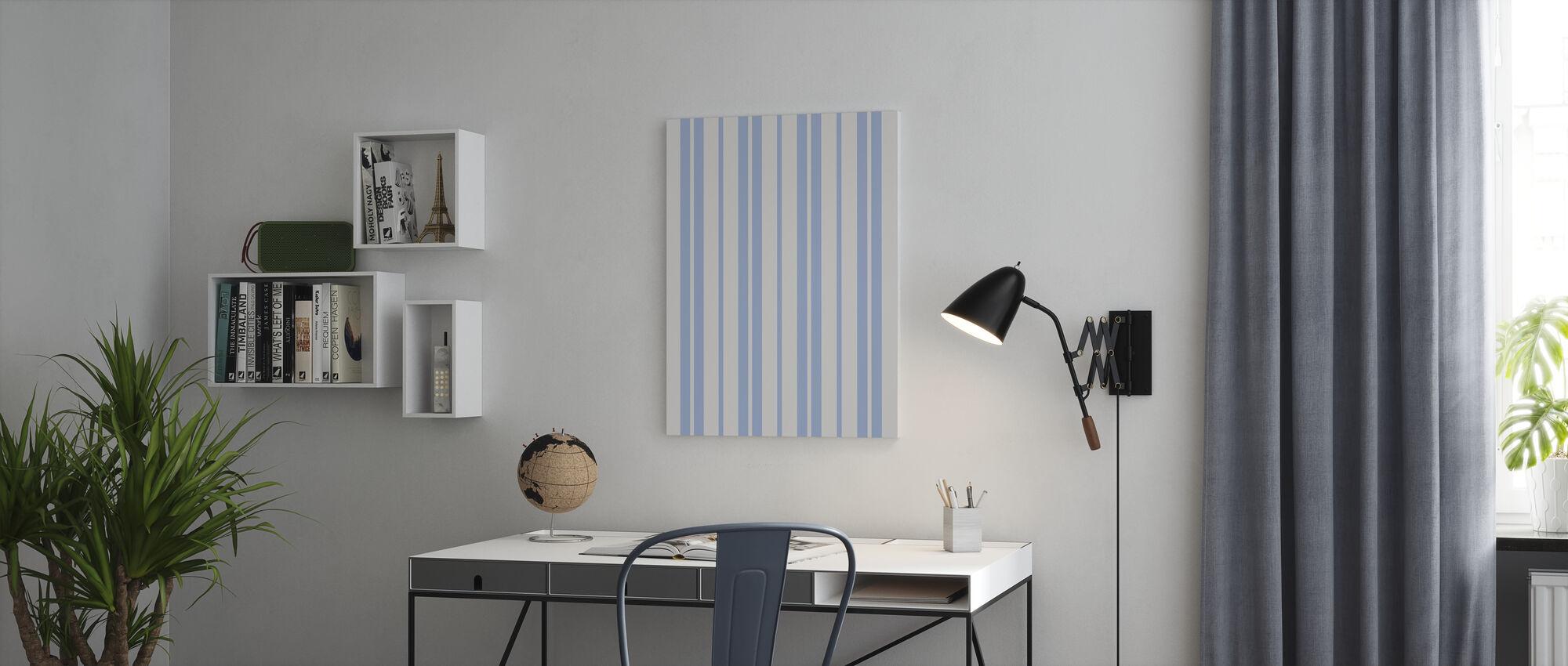 Classic Stripes - Canvas print - Office