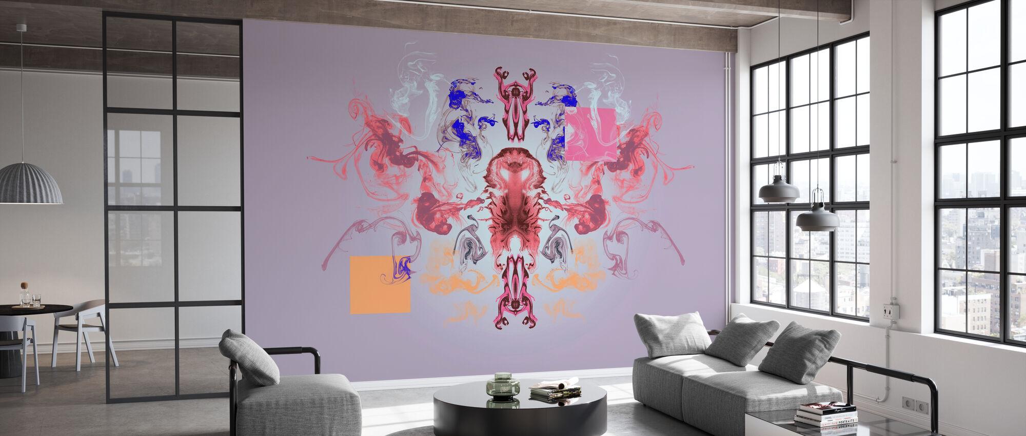 Deep Fluids - Wallpaper - Office